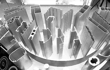 有些山东工业铝型材挤压裂纹产生的原因